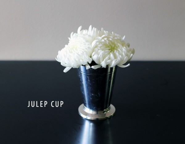 BRIDAL WHITE JULEP CUP