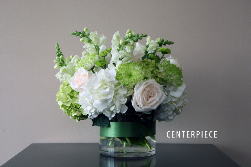 GREEN CENTERPIECE