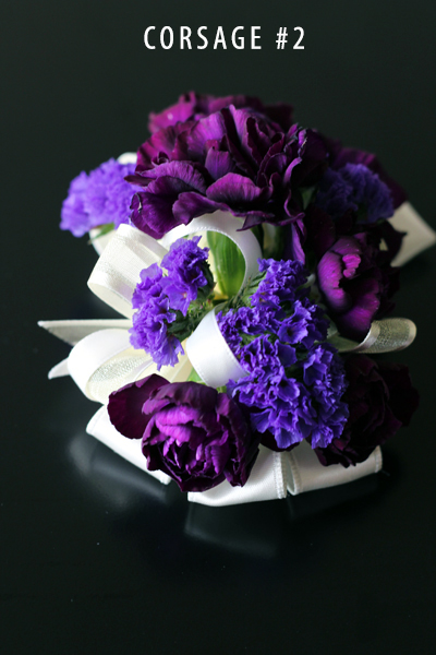 MAJESTIC PURPLE CORSAGE 2