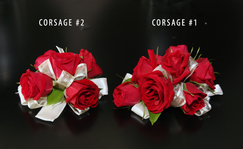 ROSE CORSAGE COLLECTION