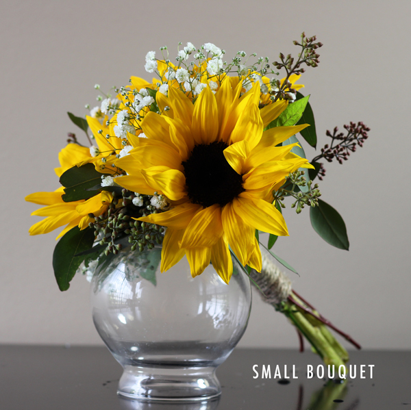 Vintage Sunflower Collection | Bridal Flowers To Go