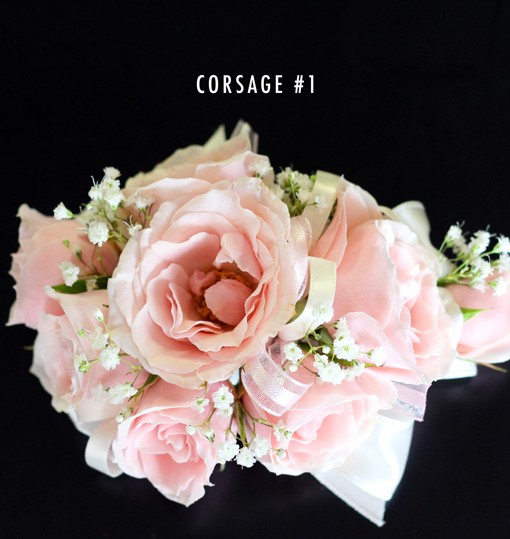 Blush pink corsage 1 bridal flowers to go bpc1 mightylinksfo