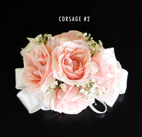 Blush pink corsage 2 bridal flowers to go prev mightylinksfo