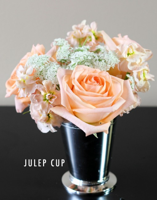 Perfect Peach Julep Cup | Bridal Flowers To Go