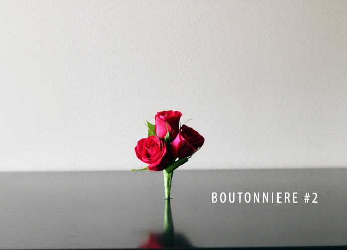 ROSE BOUTONNIERE #2.1