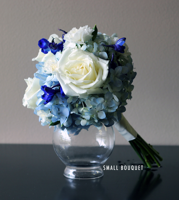 Something Blue Small Bouquet