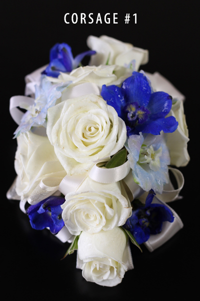SOMETHING BLUE CORSAGE 1