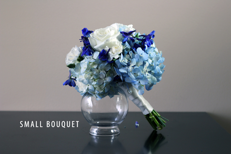 SOMETHING BLUE SMALL BOUQUET 3