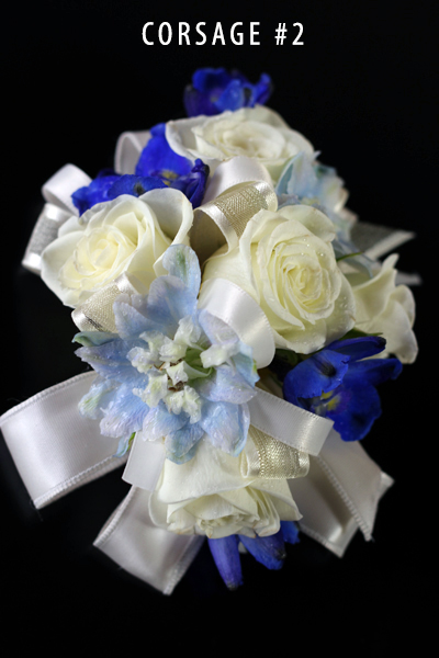 Something Blue Corsage #2